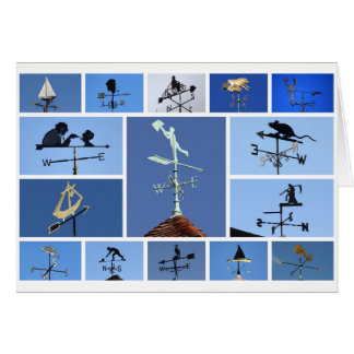 Weathervanes card