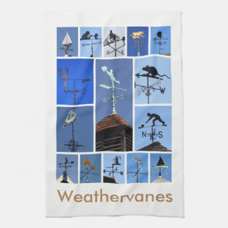 Weathervanes teatowel kitchen towel