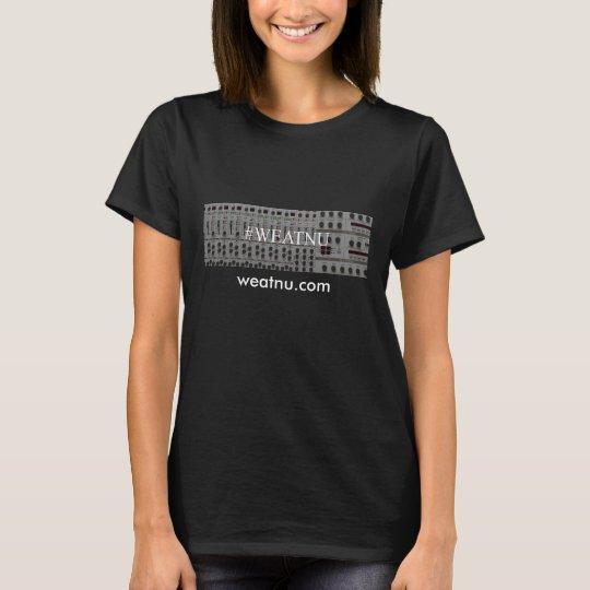 #WEATNU 'synth' Logo women's t-shirt