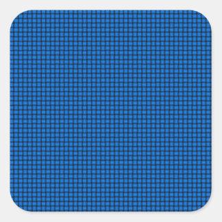 Weave - Azure Square Sticker