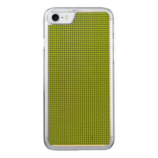 Weave - Fluorescent Yellow Carved iPhone 7 Case