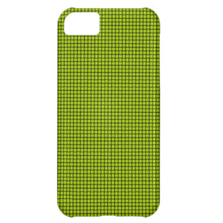 Weave - Fluorescent Yellow iPhone 5C Cases