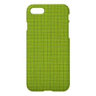 Weave - Fluorescent Yellow iPhone 7 Case