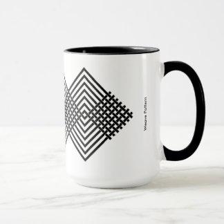 Weave Pattern Mug