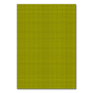 Weave - Yellow Table Cards