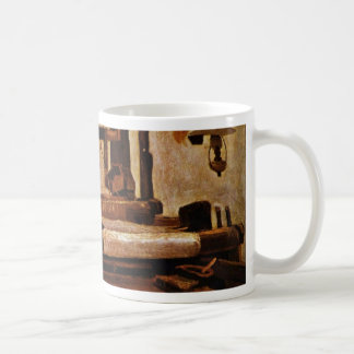 Weaver At The Loom By Vincent Van Gogh Coffee Mug
