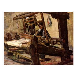 Weaver by Vincent van Gogh Postcard