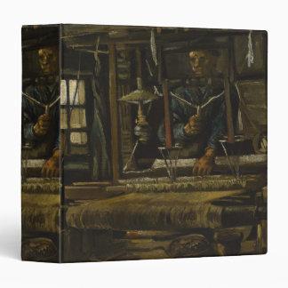 Weaver s Cottage by Vincent Van Gogh Vinyl Binder