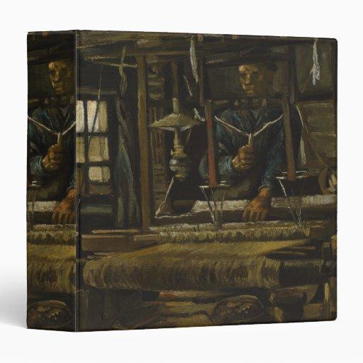 Weaver's Cottage by Vincent Van Gogh Vinyl Binder