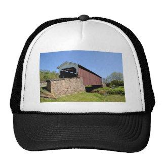 Weaver's Mill Covered Bridge Trucker Hat