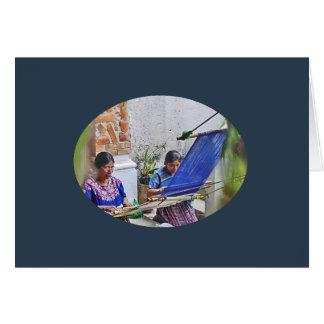 Weavers of Antigua Card