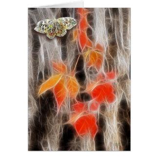 Weaving Fall Colors! Card