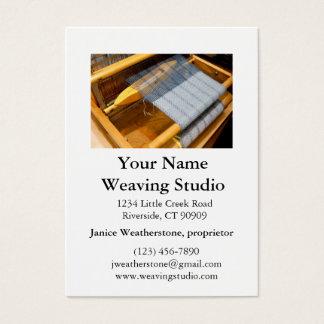 Weaving Studio Business Cards