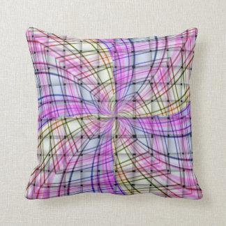 Weaving & Swirling Throw Pillow