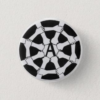 web a logo 1 inch round button