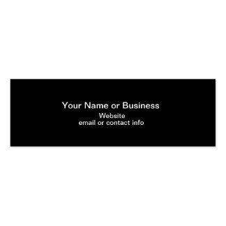 Web de mini carte de visite de signet de couleur