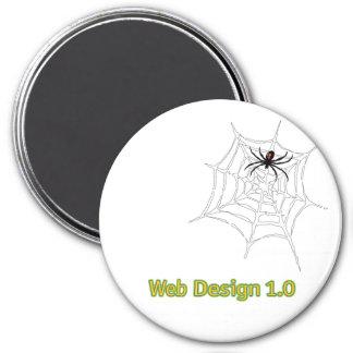 Web Design 1.0 Magnet