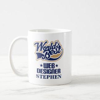 Web Designer Personalized Mug Gift