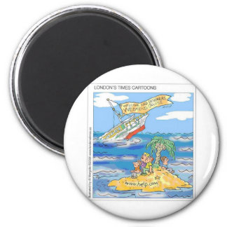 Web Designers Terror Cruise Ship Funny Gifts & Tee Magnet