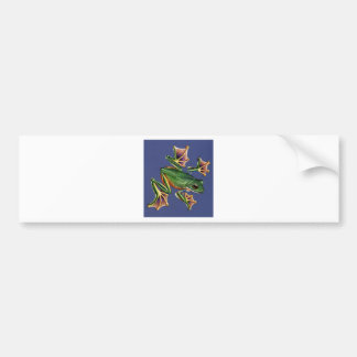 Web Frog Bumper Sticker