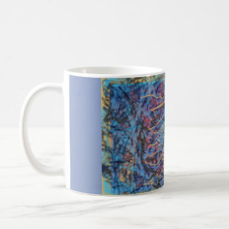 Web of colors coffee mug
