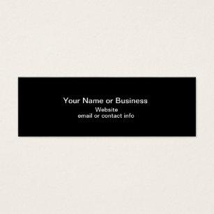 Bookmark business cards business card printing zazzle ca web of colour mini bookmark business card colourmoves