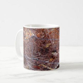 Web of European Garden Spider Mug
