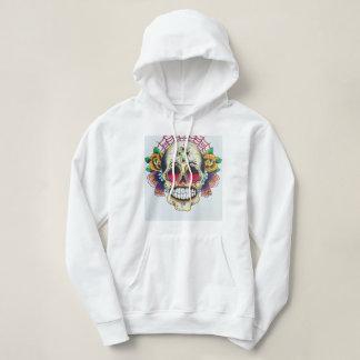 web of skulls hoodie