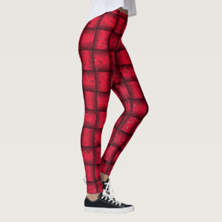 Web optics - red leggings