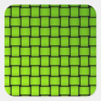 Web sample square sticker