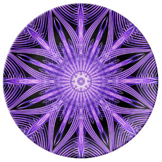 Web Way Mandala Plate