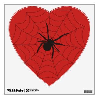 webbed wall sticker