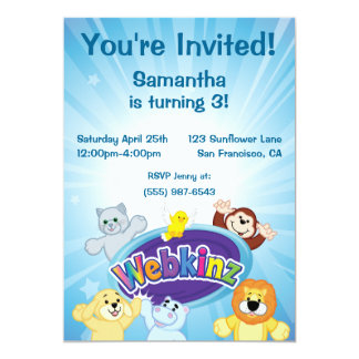 Webkinz: Come In and Play Card