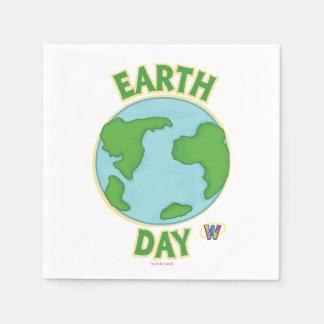 Webkinz Earth Day Paper Napkin