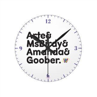 Webkinz Names Design Clocks