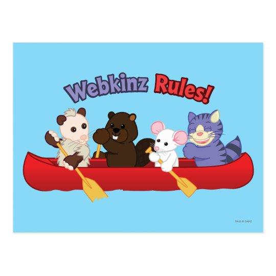Webkinz | Webkinz Rules Canoe Trip 2 Postcard