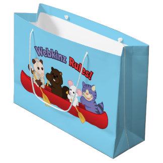 Webkinz | Webkinz Rules Canoe Trip Large Gift Bag
