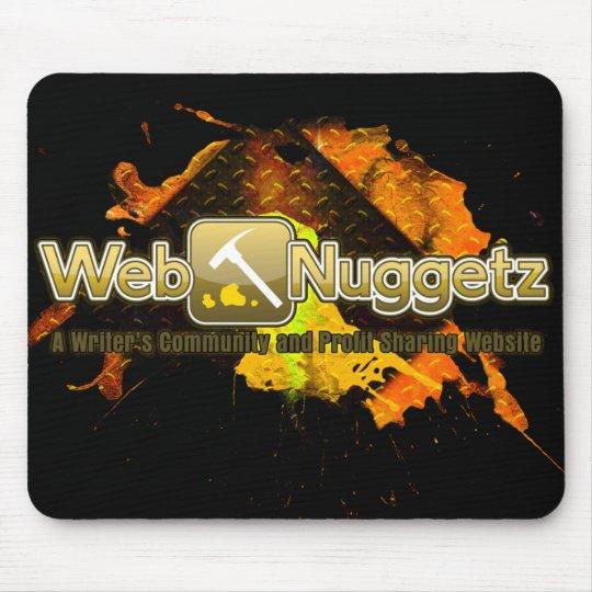 Webnuggetz.com Logo Mousepad