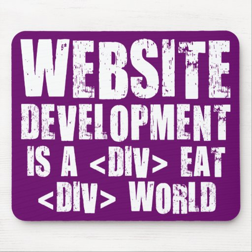 Website development is a competitive career choice mouse pads