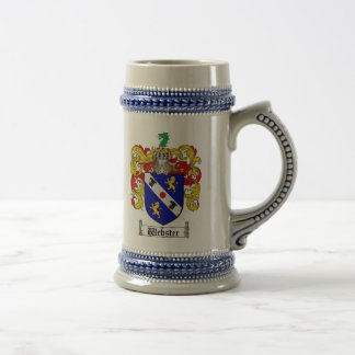 Webster Coat of Arms Stein