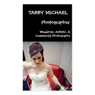 wed7 MICHAEL TIGRÉ photographe mariages AR… Cartes De Visite Personnelles