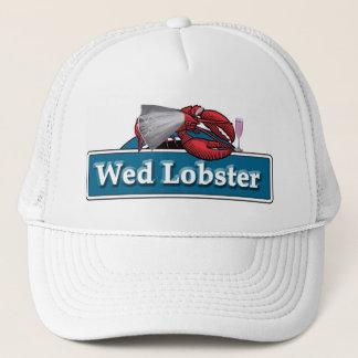 Wed Lobster Trucker Hat
