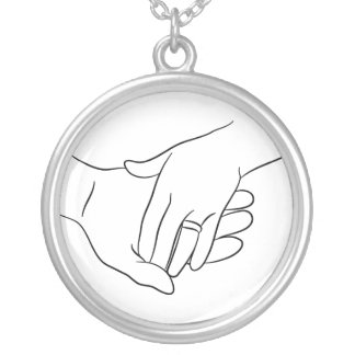 Wedded Bliss Silver Plated Necklace
