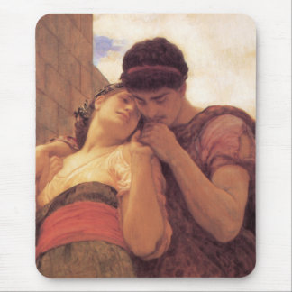 Wedded by Lord Frederick Leighton Mouse Pad