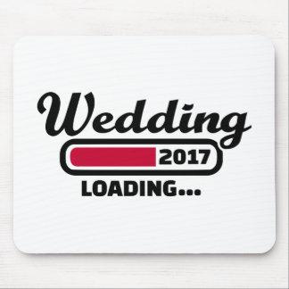 Wedding 2017 mouse pad