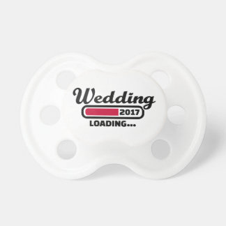 Wedding 2017 pacifier