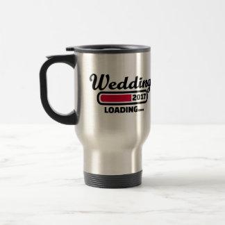 Wedding 2017 travel mug