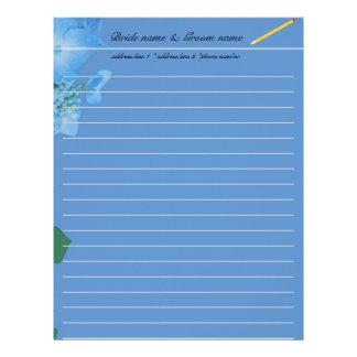 wedding accessary for bride and groom letterhead template