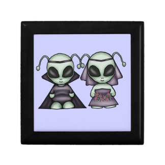Wedding Aliens Keepsake Box