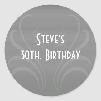 Wedding and Celebration Stationary Classic Round Sticker